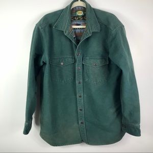 Cabela's button down western thick shirt OR jacket